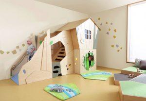 Kinderspielbereich-Bistro